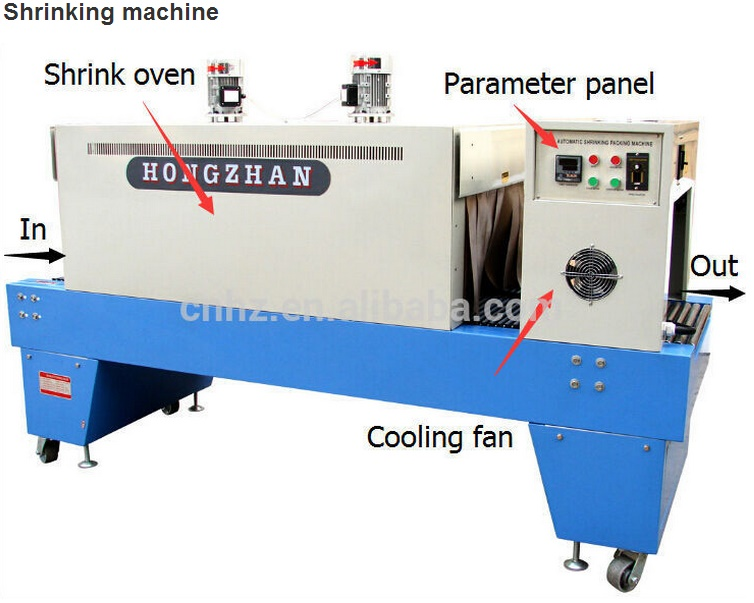 St6030 Small Bottle Shrink Wrapping Machine