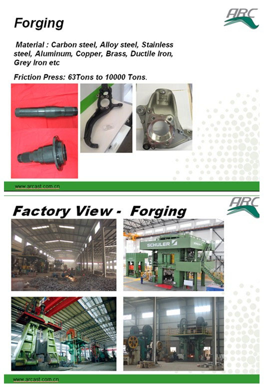 Steel Alloy Forging Knuckles for Engineering Vehicles and Heavy Trucks Arc-F007