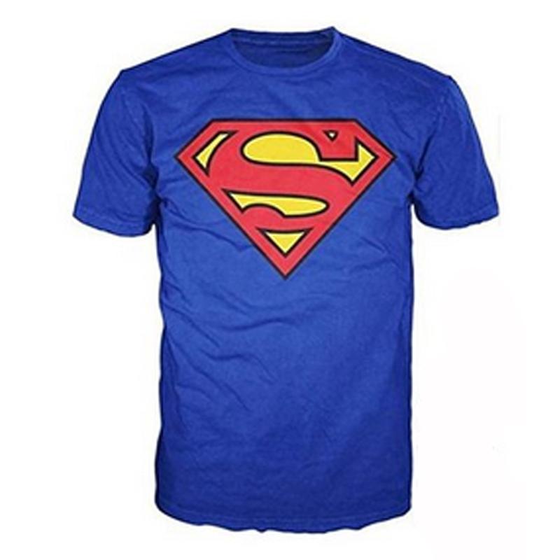 100%Cotton Superman Classic Logo Men's T-Shirt