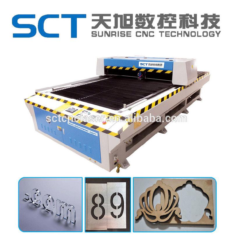 Heiße Verkaufs-Metall-u. Nichtmetallische Laser-Schneidemaschine