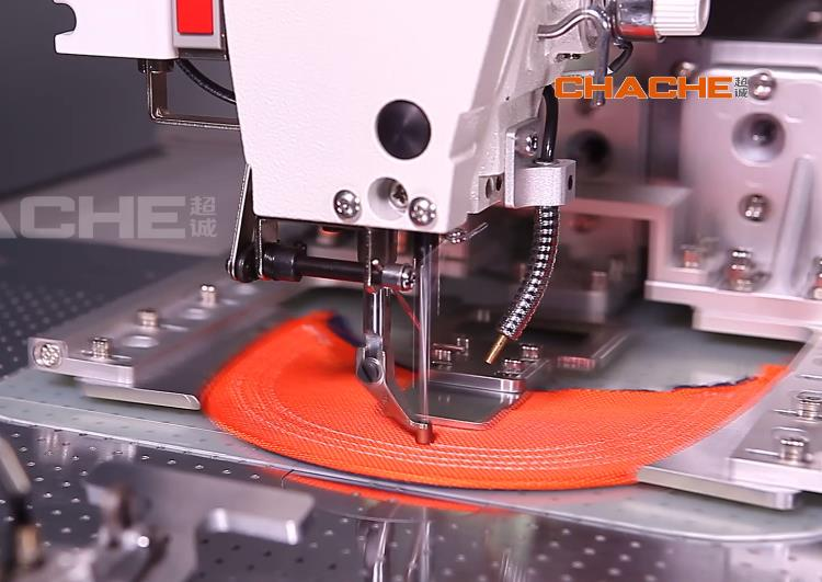 automatic cap sewing machine