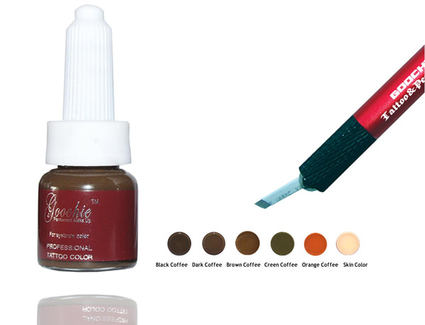 Goochie Colour Cream Eyebrow Pigment