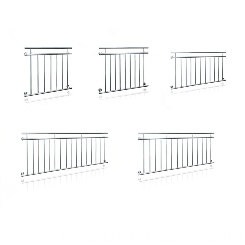 Stainless Steel French Rustproof Balcony Railing