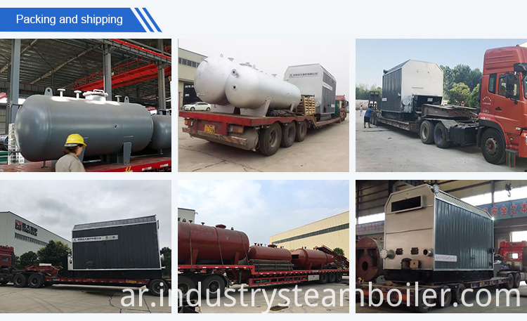 Firewood Fired Thermal Oil Boiler for Wood Dryer