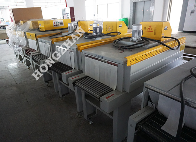 Shrink Pack Machine Shrinking Tunnel Heat Wrapping Packing Machine for POF PVC PE Sealed Film with Sealing Machine
