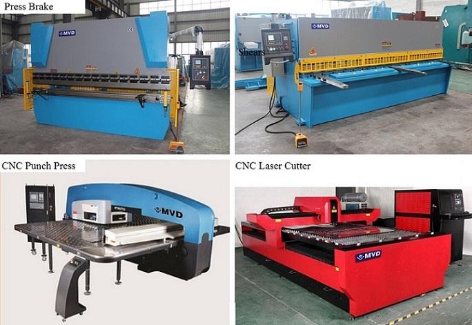 3 Axis 63t/2500 CNC Press Brake with Delem Da52s CNC Press Brake 63 Tons