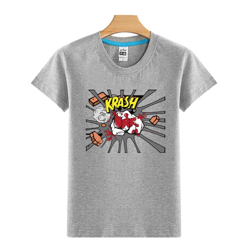 Six Colors Custom Wholesale Fashion Printing Cotton Men T Shirt