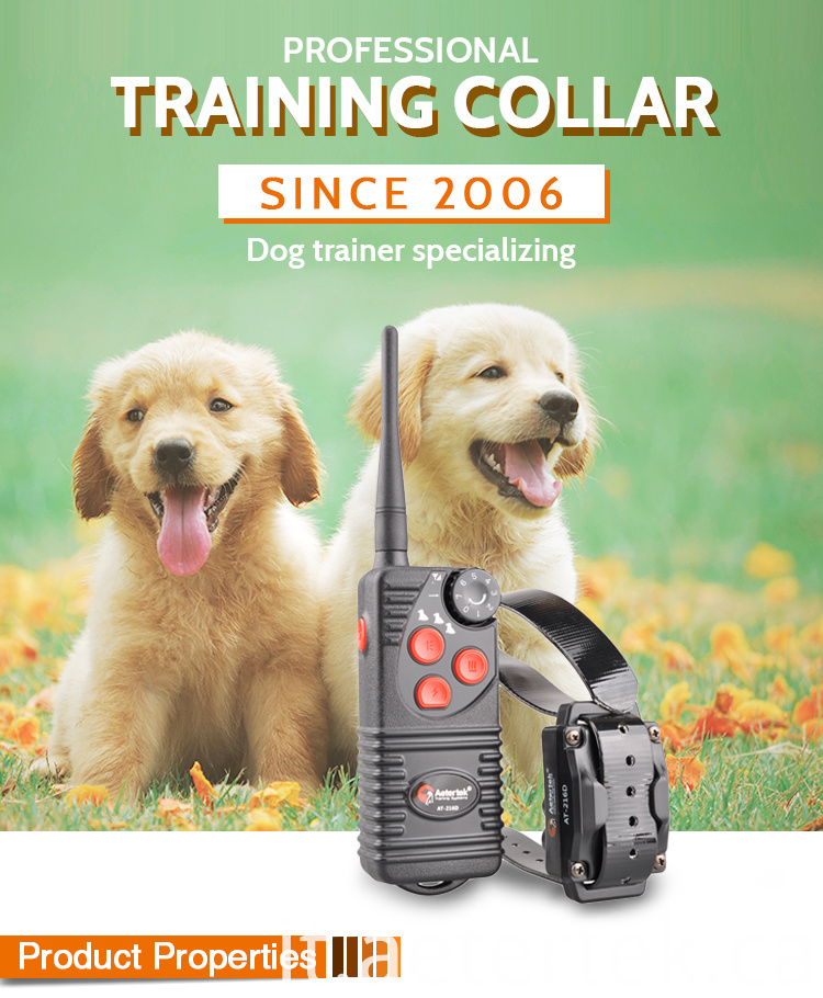 Electronic Training Anti Bark Collar AT-216D-2