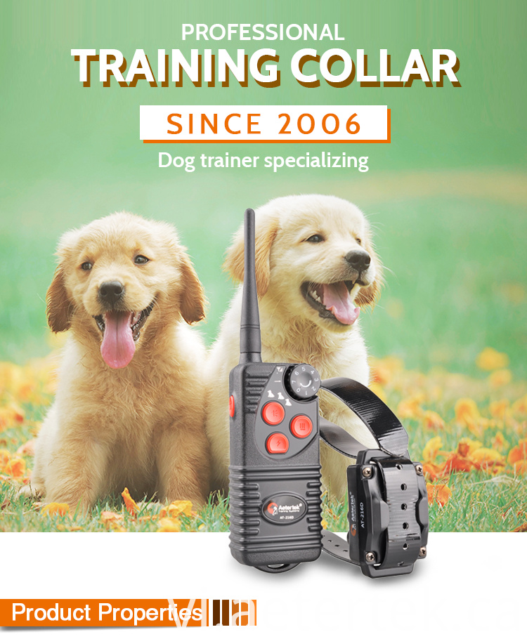 AT-216D Electronic Training Anti Bark Collar