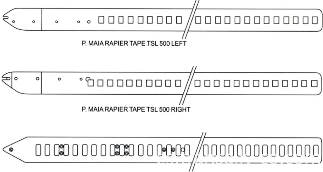 P.MAIA RAPIER TAPE TSL500 LEFT/RIGHT/ANCE
