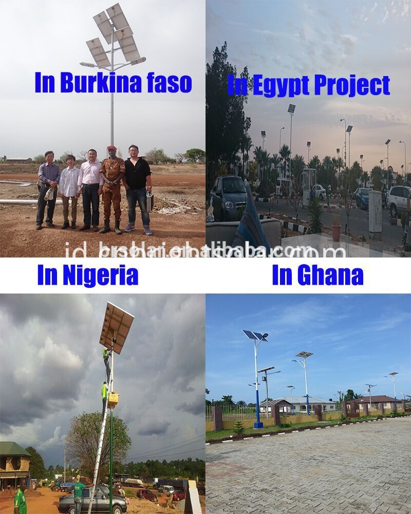 Solar Street light project