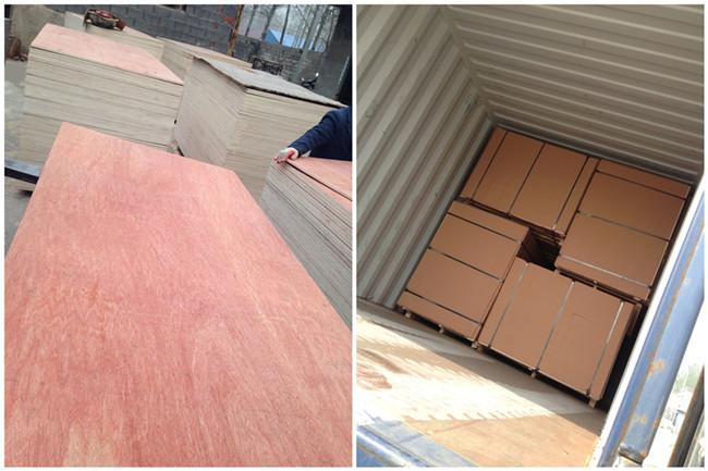2mm - 25mm Mahogany Bintangor Commercial Plywood