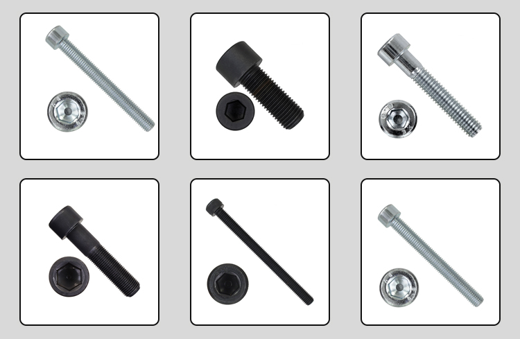 Steel hexagon socket screws
