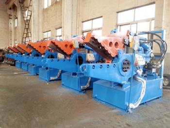 Integrierte hydraulische Kupferschneidemaschine Ce Scrap (Q08-100_
