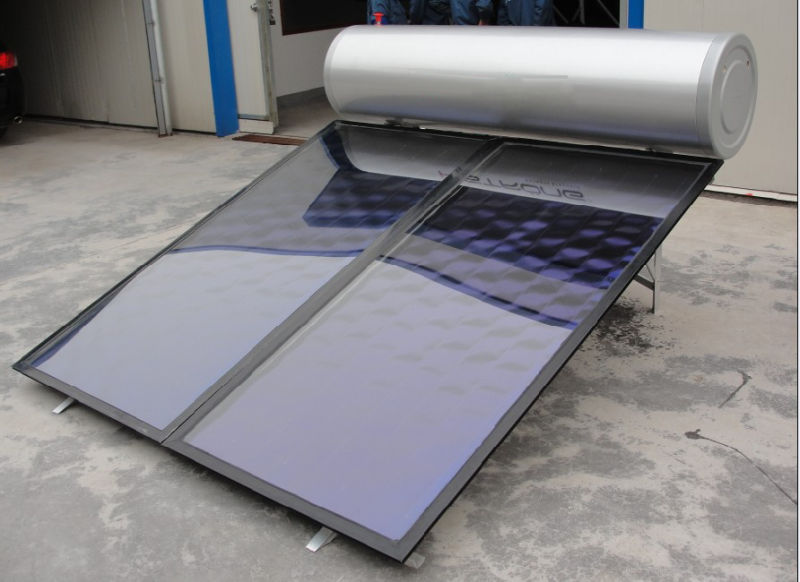 Flat Plate Heat Collector of Solar Cell Plate System