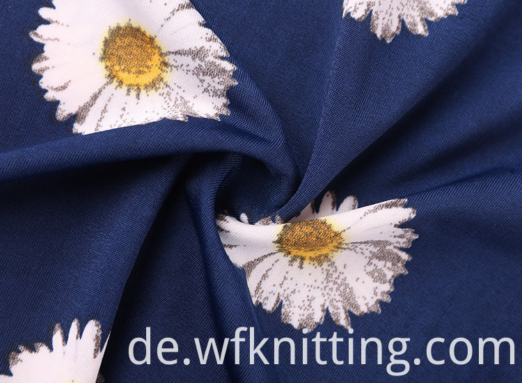 Chrysanthemum German Print Fabric