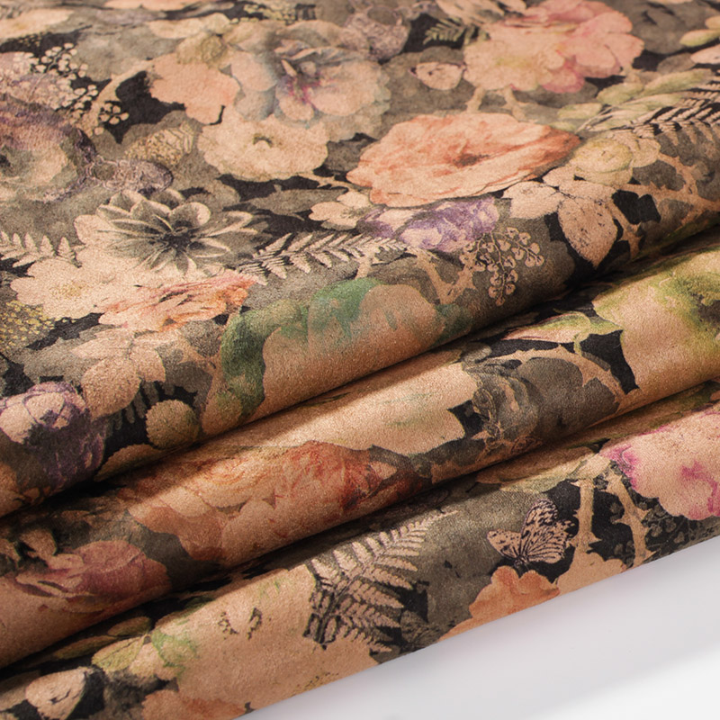 Printing Suede Fabrics for Fall/Winter