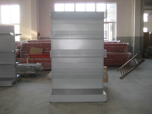 Supermarket&Store Display Equipment/Metal Gondola Storage Shelf&Rack System