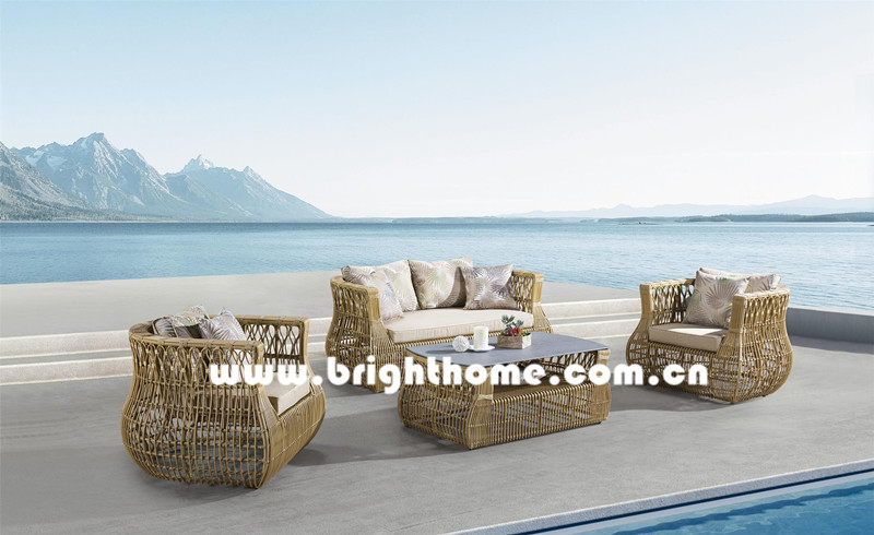 New Design High Quality Wicker Outdoor Furniture Bp-8026