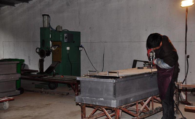 American Style Steel Casket (16179058)