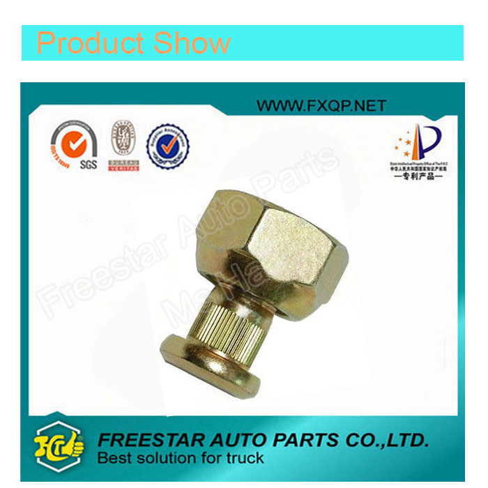 Square Head Certified Galvanized Bolt for Toyota