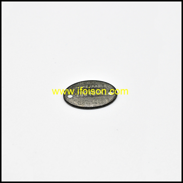 Metal Label with Customized Logo for Garment