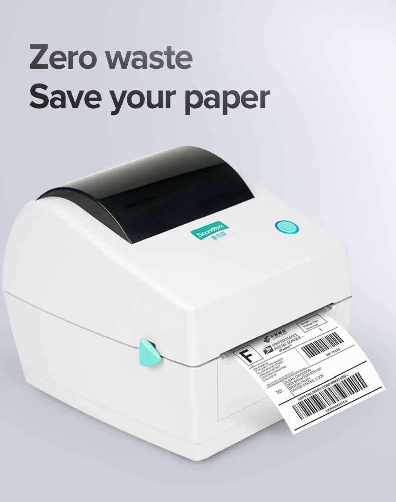4 inch shipping barcode label printer
