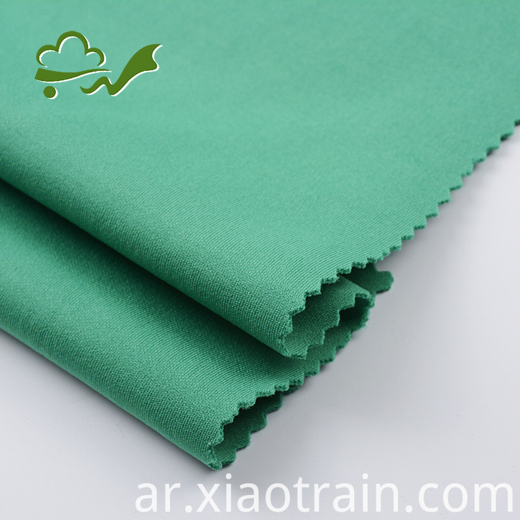 polyester spandex interlock fabric