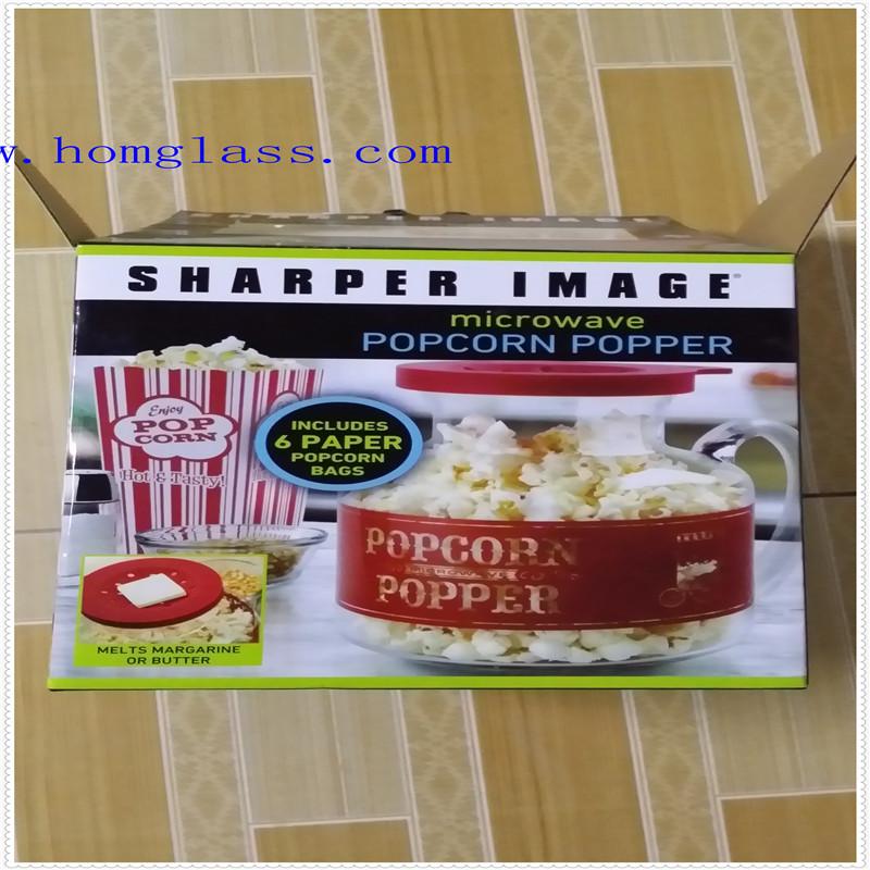 Heat Resistant Microwave Popcorn Popper/Corn Popper/Popcorn Machine/Popcorn Maker