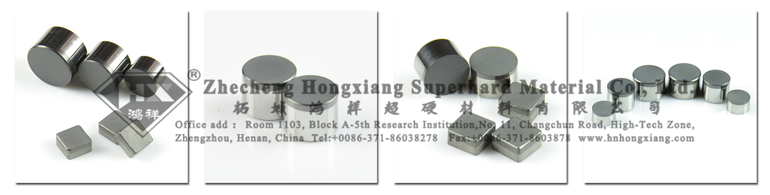 PDC Drill Cutters / PDC Cutter for Oil Well Drill Bit