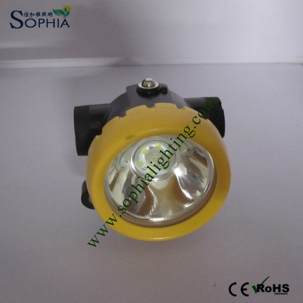 2.2ah Cordless Safety Cap Light with Main Light 2 Years Warranty