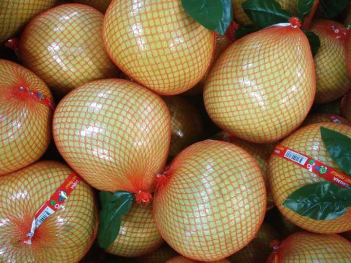 Chinese Exporting Standard Fresh Honey Pomelo