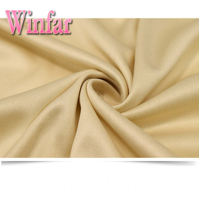 Cool Dry Composition Interlock Fabric
