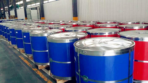 White Prepainted Galvanized Steel Coil/Metal Roofing Sheets Building Materials