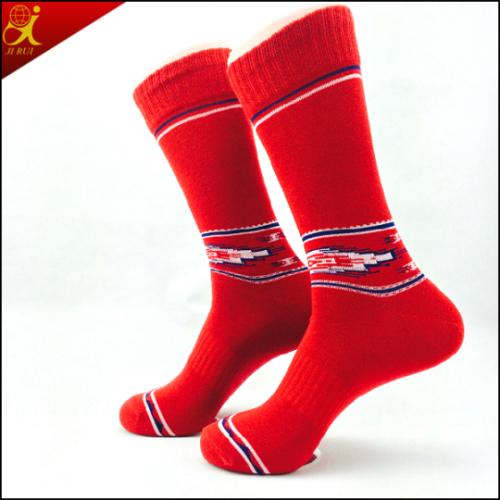 Cotton Material Custom Men Sock