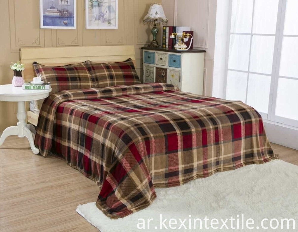 strip designs flannel blanket