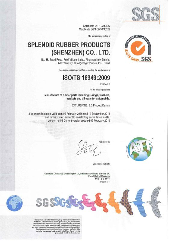 Good Quality Lower Price Rubber Bushing and Rubber Gaskets