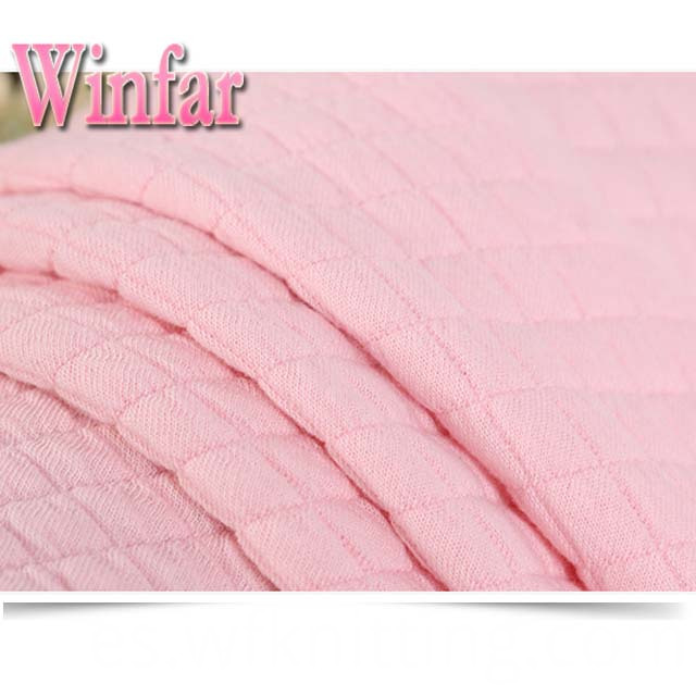 Keep Warm Polyester Spandex Fabric