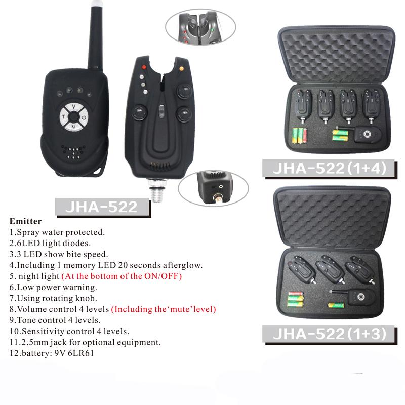 Carp Fishing Wireless Remote Control Fishing Bite Alarm
