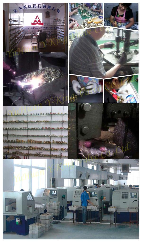 Factory Price Brass Ball Water Valve (YD-1011)