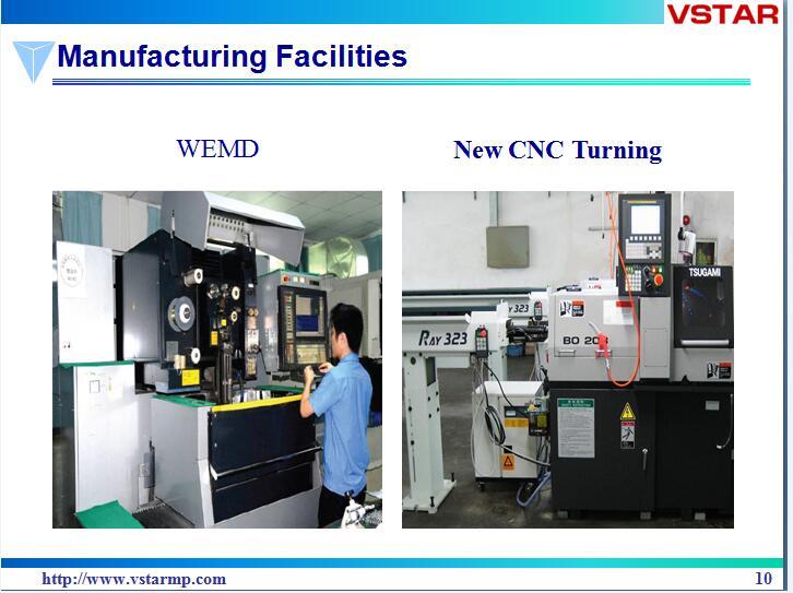 CNC High Precision Hardware Machining Part Casting Spare Parts Vst-0971