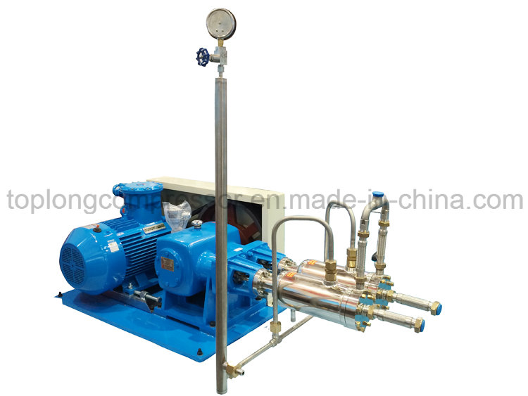 Middle Pressure Cryogenic Liquid Pump (Svmb300-600/50)