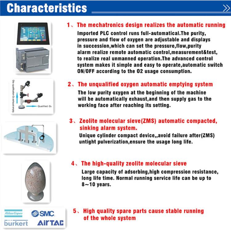 Psa Oxygen Generator for Hospital/Industry (ISO9001, CE)
