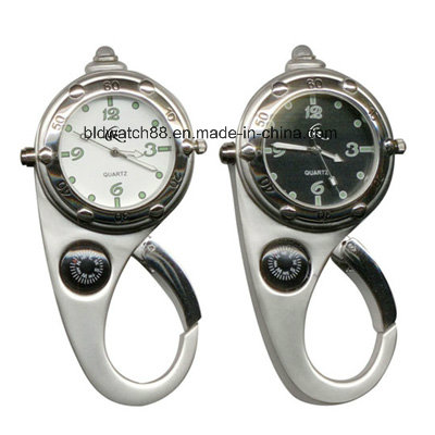 Quality Leather Field Clip Watch for Outdoor