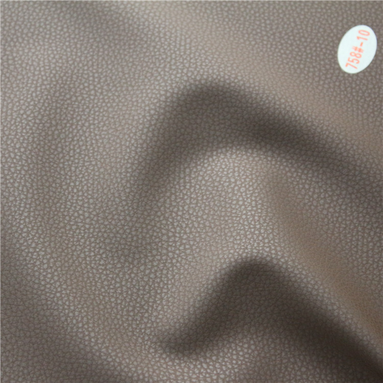 Artificial Abrasion-Resistant Waterproof PVC Leather for Dining Room Furniture