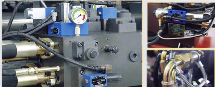 Hydraulic part injection molding machine