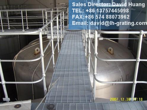 Hot DIP Galvanized Platform Steel Grating for Steel Floor