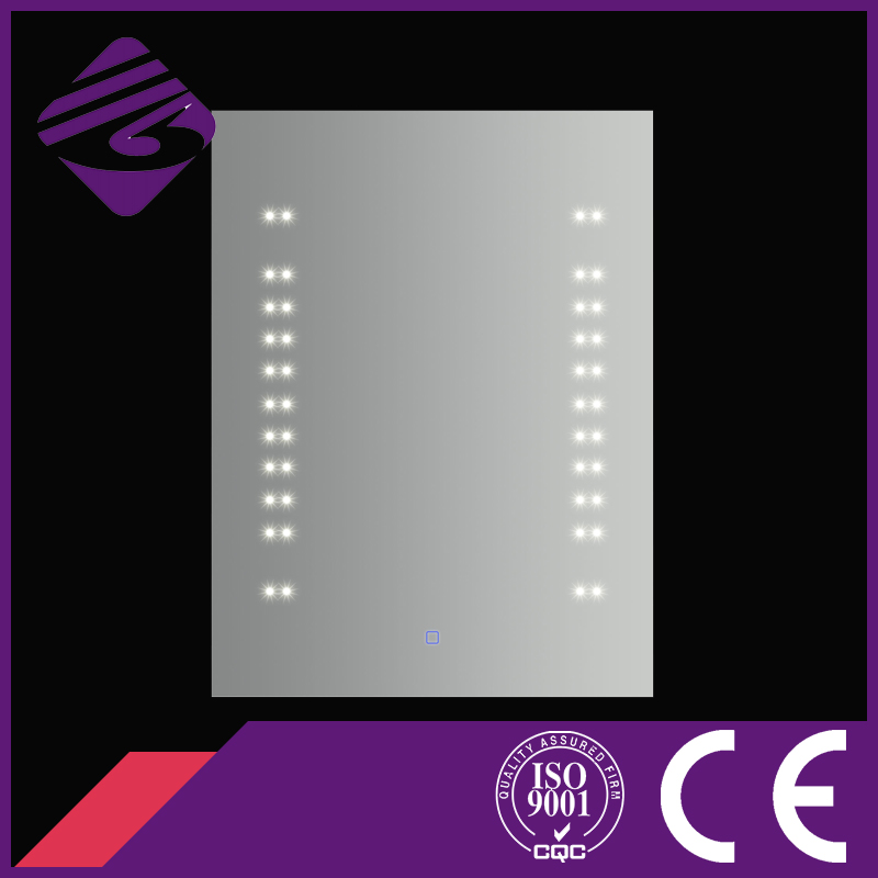 Wall Mounted Bath Mirror with LED Point Light