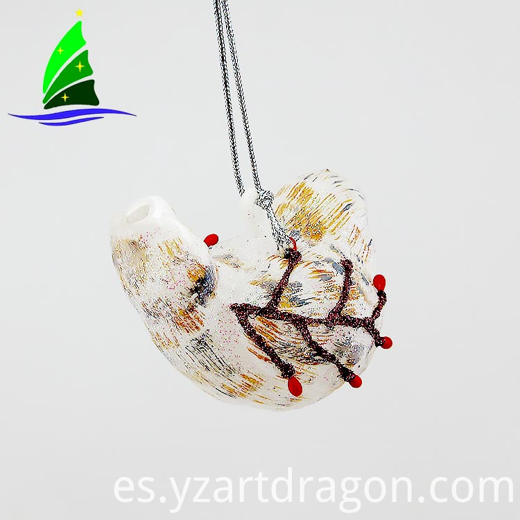 Glass Small Bird Ornaments