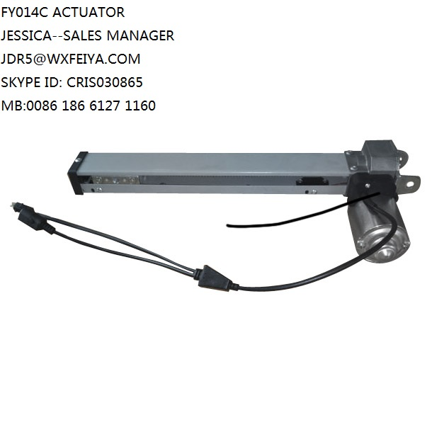 Motorized Recliner Mechanism Actuator Linear Electric DC12 V or 24V 330mm Stroke Linear Actuator of 50W